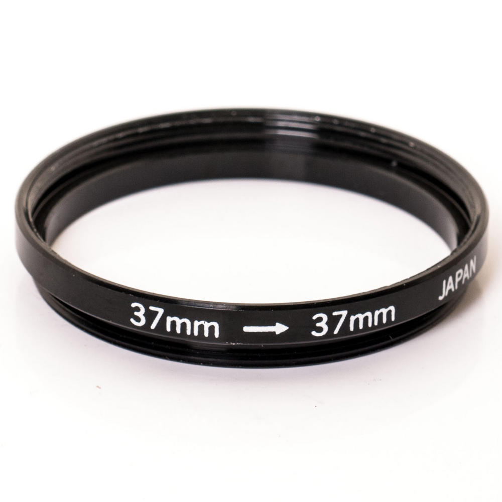 Kood 37mm - 37mm Lens Stepping Step Down Filter Adapter Ring - 37 to 37 mm