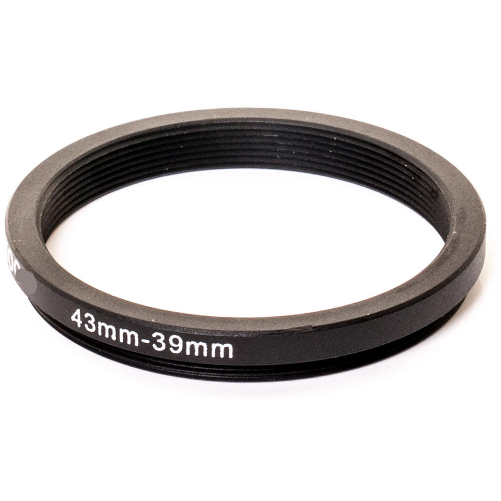 Kood 43mm - 39mm Lens Stepping Step Down Filter Adapter Ring - 43 to 39 mm