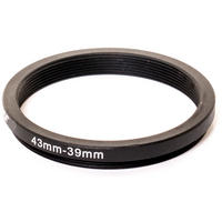 Kood 43mm - 39mm Lens Stepping Step Down Filter Adapter Ring - 43 to 39 mm Thumbnail 1