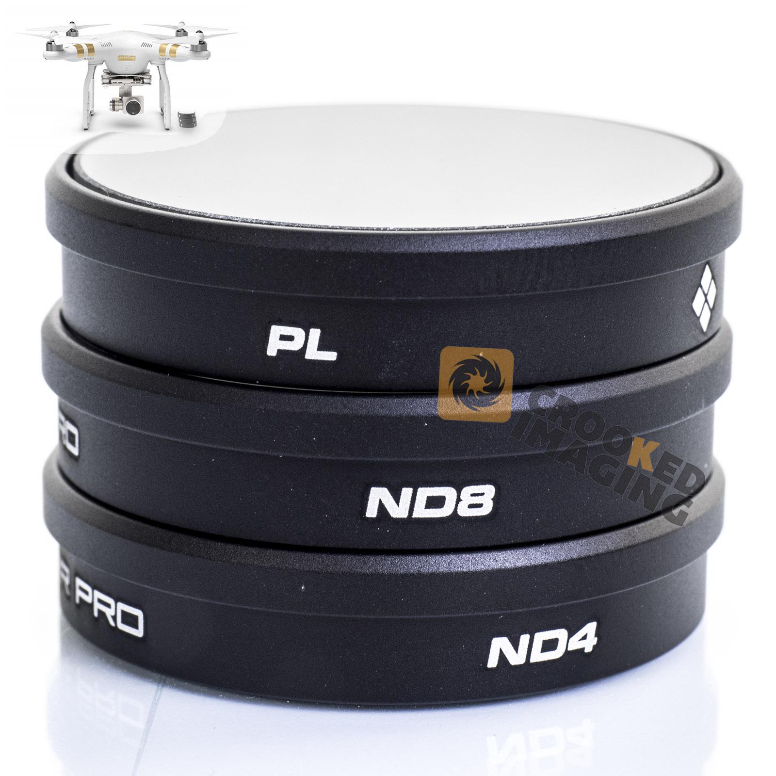 Drone Filter Mavic 2 Pro NDPL4/8/16/32 Neutral Density Polar Advanced Set Mavic2 Pro Accessories