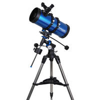 Meade Polaris 127 EQ3 German Equatorial Reflector 127mm Telescope With Tripod UK
