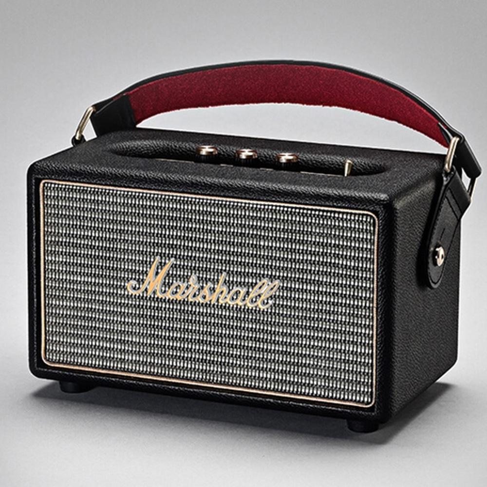 Marshall Kilburn Loud Bluetooth Wireless Speaker Active Stereo Speakers - Black