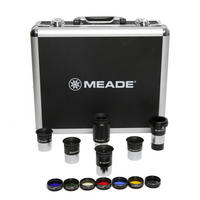 "Meade Series 4000 1.25"" Eyepiece and Filter Plossl Set for Telescope - 607001"