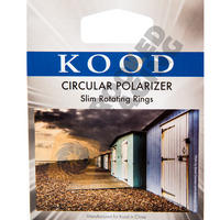 Kood 37mm Circular Polarising Filter Slim / Thin Frame - Digital & Film Camera