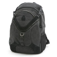 Matin Ninja CAMERA BAG BACKPACK Rucksack Waterproof Canvas Carry Case - Grey