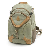 Matin Ninja CAMERA BAG BACKPACK Rucksack Waterproof Canvas Carry Case - Green