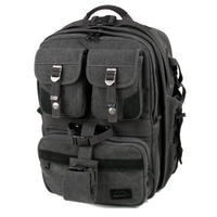 CAMERA BAG BACKPACK Pro Rucksack Canvas Carry Case Adventure Black by Matin