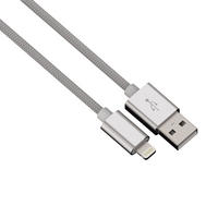 Apple Certified Lightning Cable USB Data Charging iPhone 6 Plus iPad MFI Silver Thumbnail 1