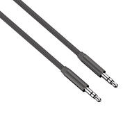 Audio Cable 3.5mm Jack to Jack Plug 1m High Quality Aluminium Anthracite By Hama Thumbnail 1