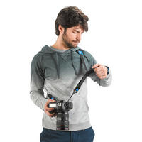 Miggo 2 Way Speed Strap Camera Shoulder & Neck Sling for DSLR and CSC - Black Thumbnail 4