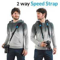 Miggo 2 Way Speed Strap Camera Shoulder & Neck Sling for DSLR and CSC - Space Zoo Thumbnail 2