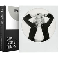 Impossible Project 600 B&W Instant Film Round Frame Polaroid 8 Photo PRD_4525