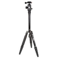 SIRUI Camera Tripod Ultra LIGHT Travel T-005X & Ball Head Kit with Case - Black