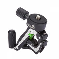 Takeway R1 Mini Clampod Clamp Tripod for Mobile & Action Cameras Compact Flashes