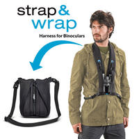 Miggo Strap and Wrap Binocular Harness Strap Carry Case - Camo Thumbnail 3