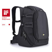 DSLR Camera Backpack Padded Rucksack Bag Split Day Pack Case Logic Luminosity