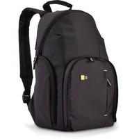 Case Logic DSLR Camera Backpack Padded Rucksack Bag Split Day Pack - Black