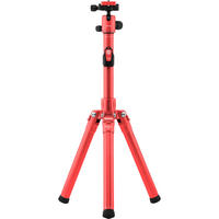 MeFOTO RoadTrip Air Camera Tripod Ultra LIGHT Travel Kit with Case - RED