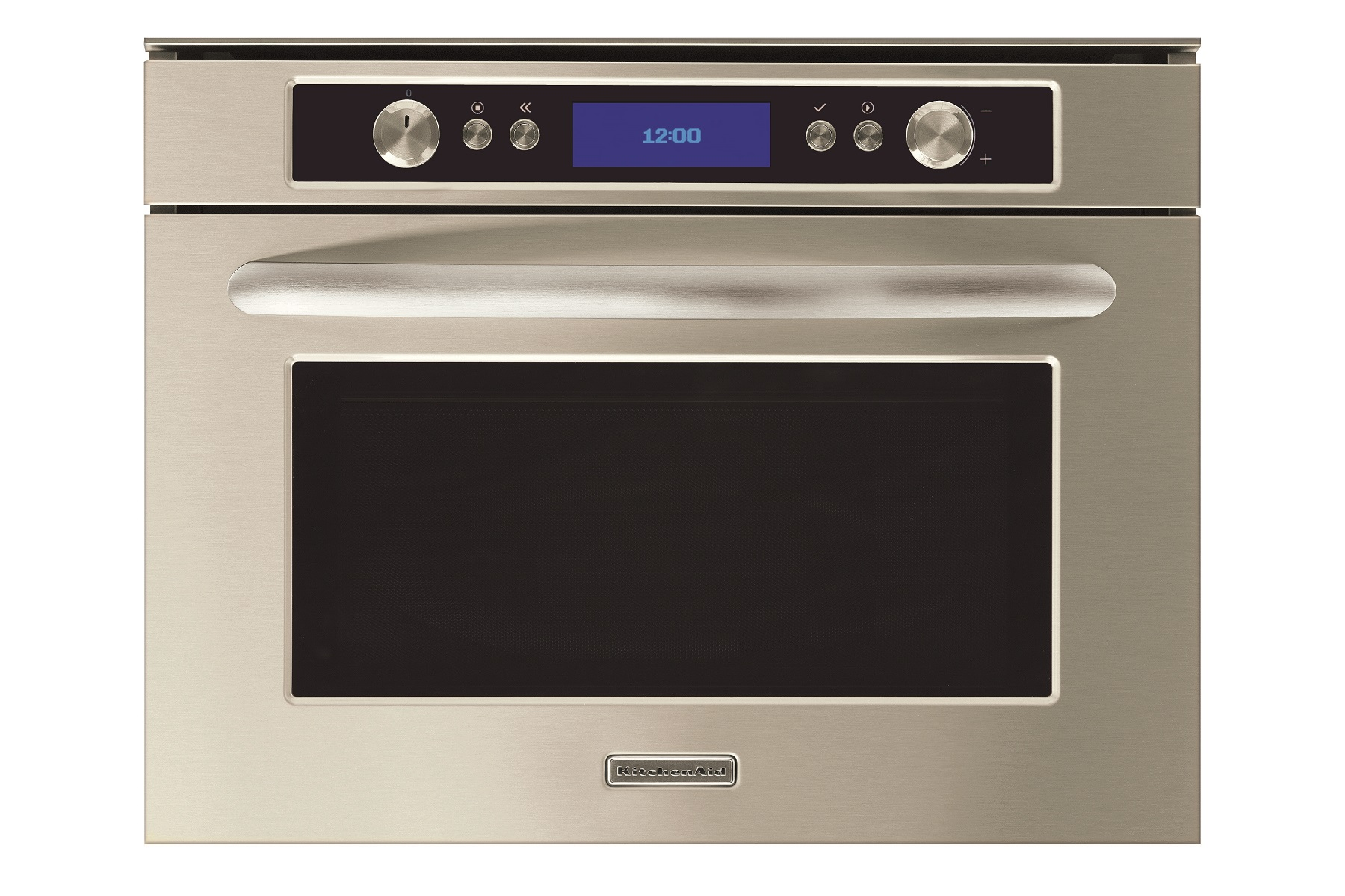 Whirlpool kitchenaid built in eco mode microwave oven frontal - Kitchenaid microwave turntable replacement ...