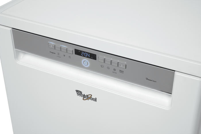 Whirlpool adp 720 wh white free standing a 6th sense - Whirlpool power clean 6th sense notice ...