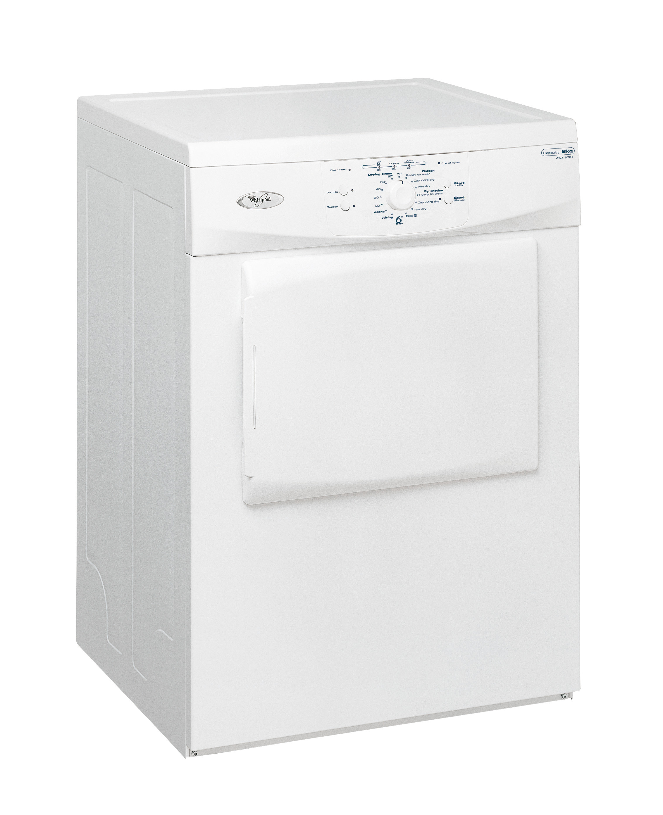 Non Vented Dryer ~ Whirlpool awz tumble dryer air vented th sense extra