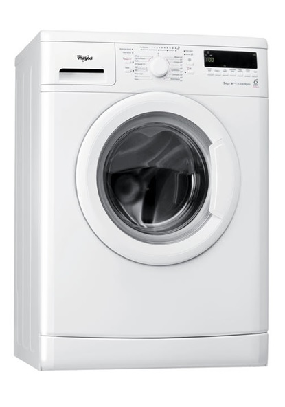 whirlpool wwdc 7210 1 washing machine white 7kg load 6th sense a speed wash ebay. Black Bedroom Furniture Sets. Home Design Ideas