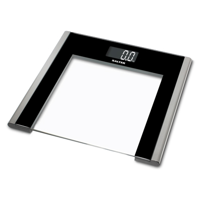 Salter 9050 Ultra Slim Glass Electronic Bathroom Scale Enlarged Preview