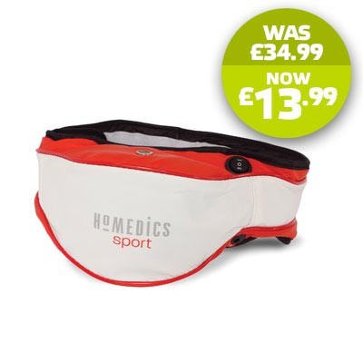 New HoMedics HSM-200 Vibrating Sports Massage Belt for Back, Neck, Legs & Arms Enlarged Preview