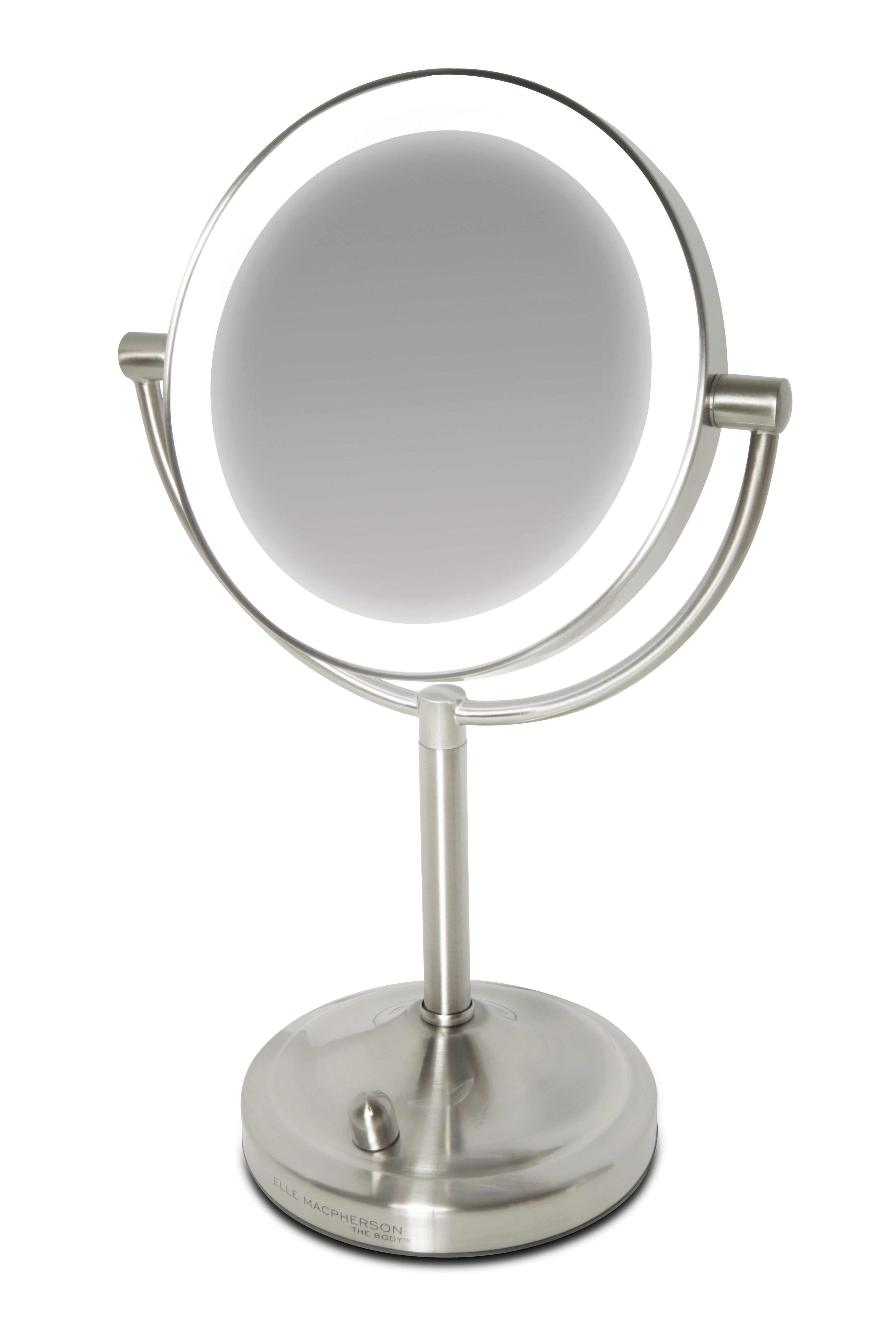 Elle macpherson illuminated beauty mirror mirror with for Mirror with lights
