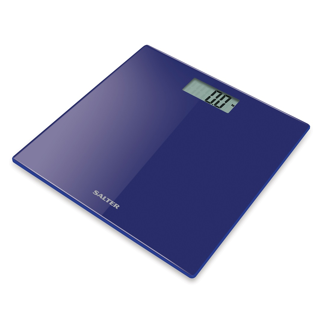Salter Digital Bathroom Scale Ultra Slim Glass Electronic