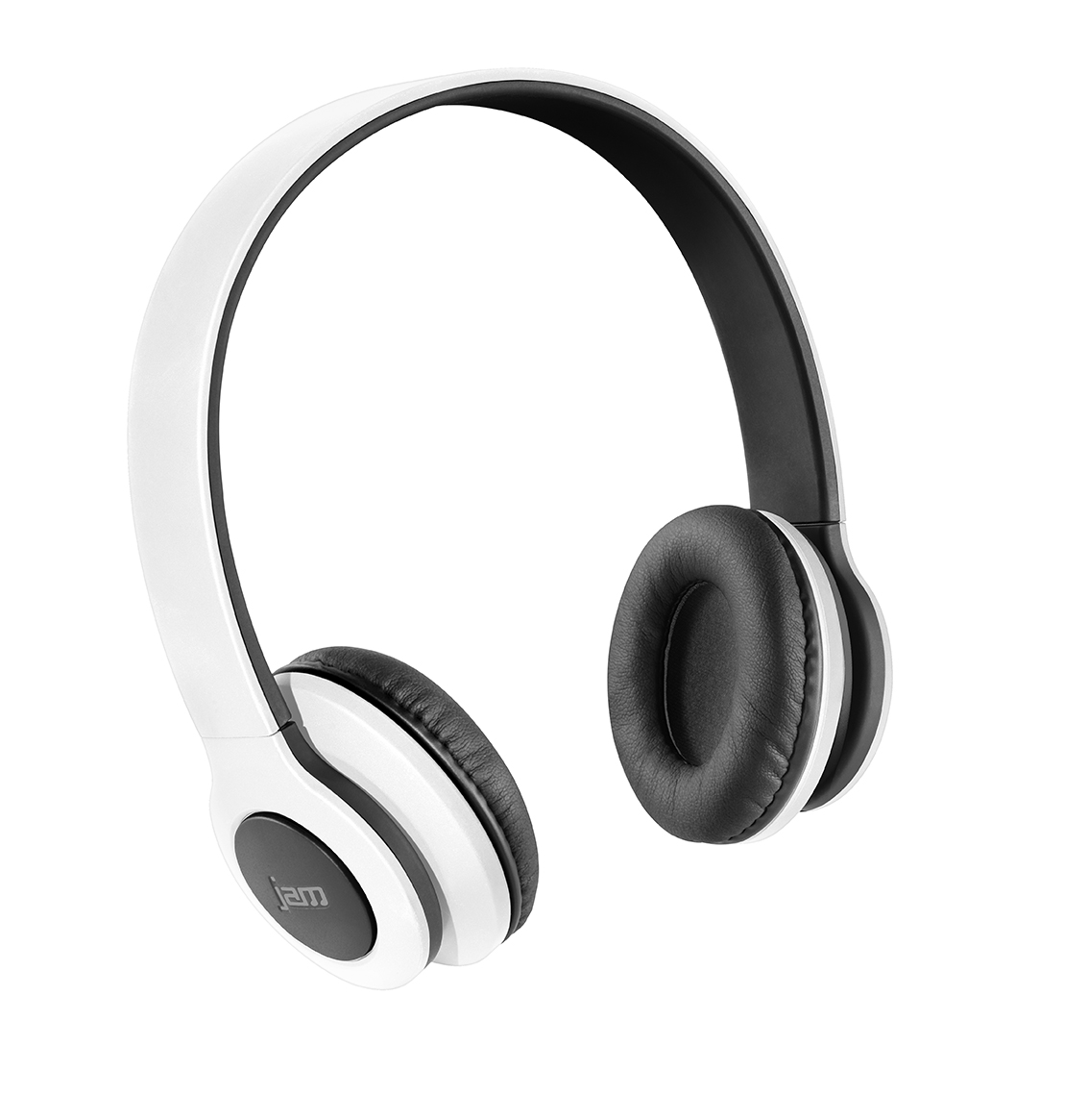hmdx jam transit on ear wireless bluetooth headphones white hx hp420bk new ebay. Black Bedroom Furniture Sets. Home Design Ideas