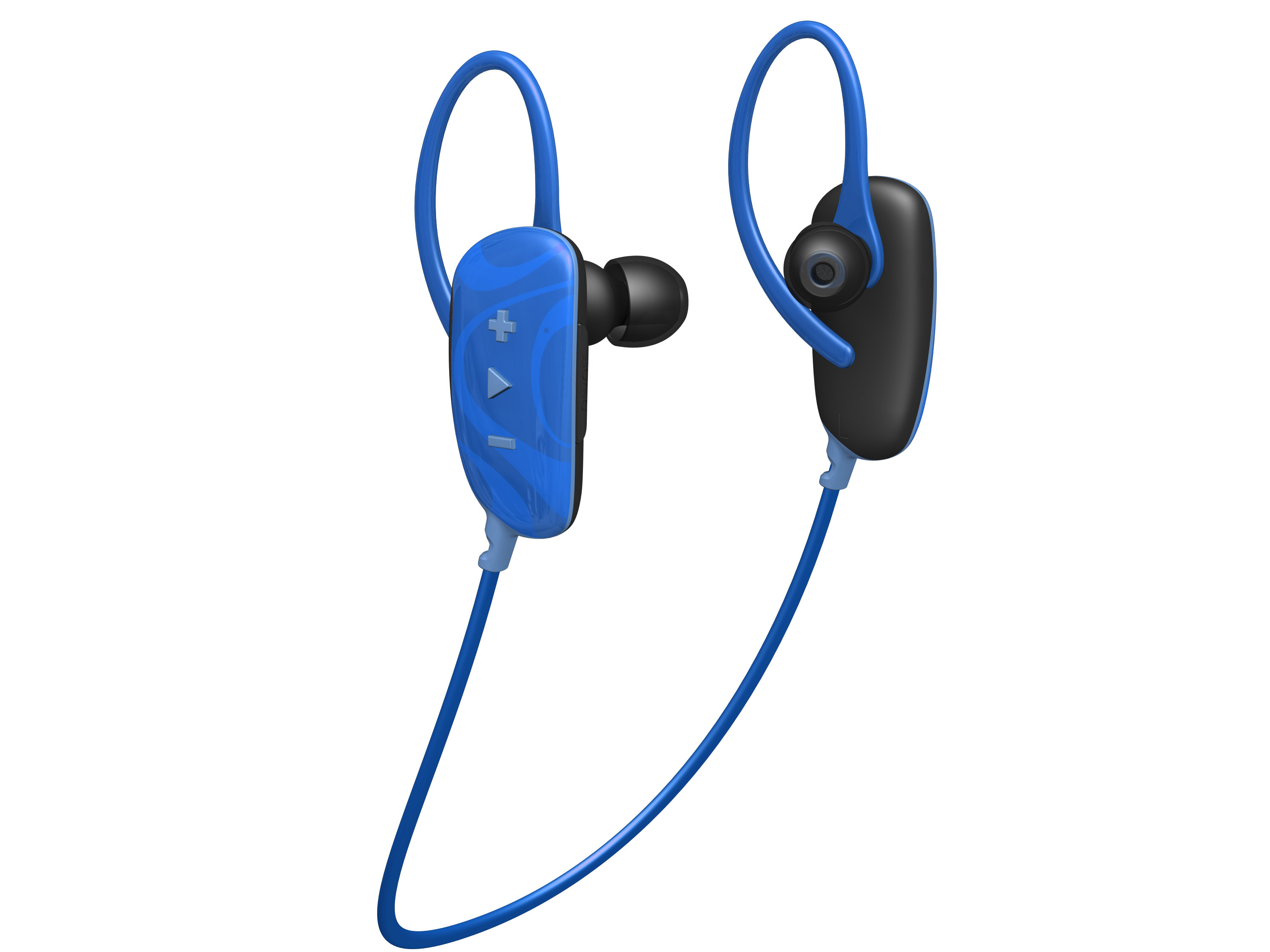jam fusion buds in ear bluetooth headphones blue sports wireless earphones ebay. Black Bedroom Furniture Sets. Home Design Ideas