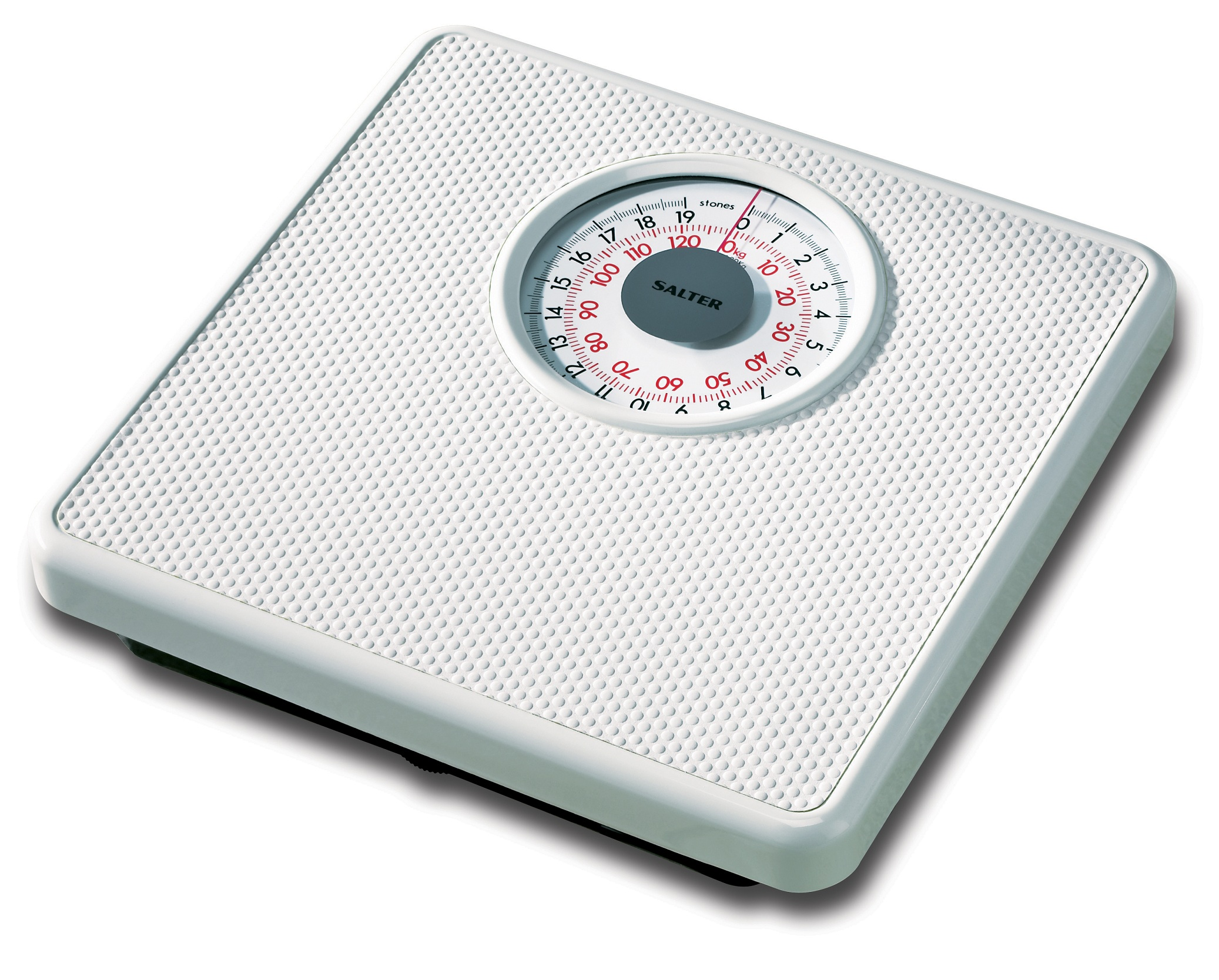 Salter 427 WHDR Mechanical Bathroom Scale - White Enlarged Preview