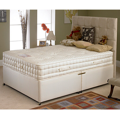 Deluxe Beds Savoy 2000 Pocket Sprung Divan Bed Single Double King Super King Ebay