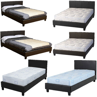 Prado bed single three quarter double low foot end Three quarter divan bed