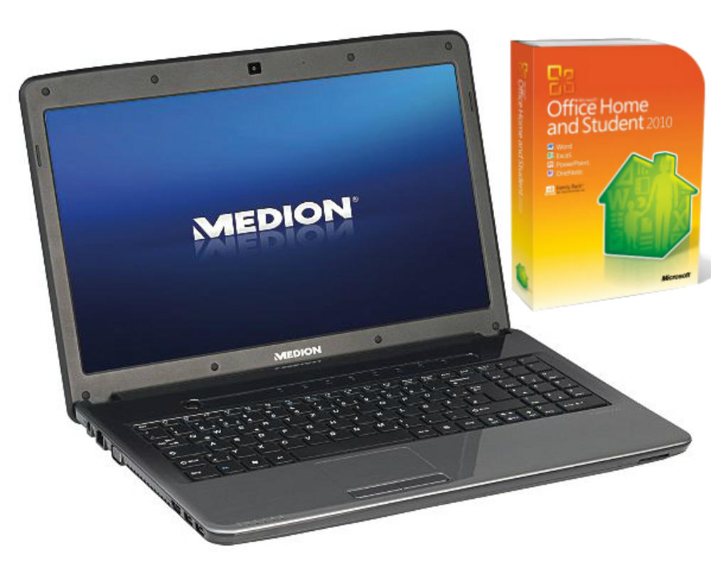 "Medion Akoya E6234 15.6"" Laptop 500GB HDD 4GB RAM Win 8 *Office Pre-Installed*"