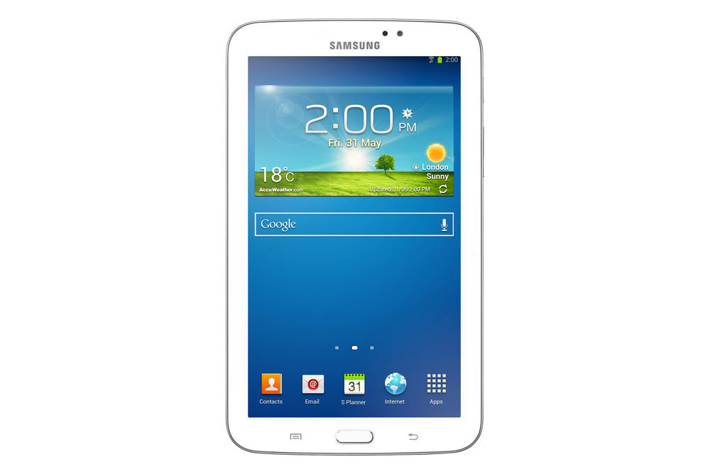"Samsung Galaxy Tab 3 8GB 7"" Android 4.1 Wi-Fi Tablet White *Free Cleaning Kit*"