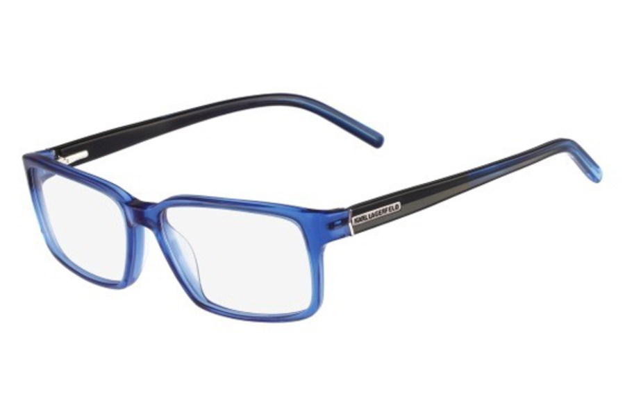 Authentic Designer Eyeglass Frames : Authentic Karl Lagerfeld KL816 Mens Designer Glasses ...
