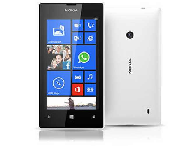 Nokia Lumia 520 White 8GB Win8 Mobile Phone Touchscreen Smartphone Vodafone only