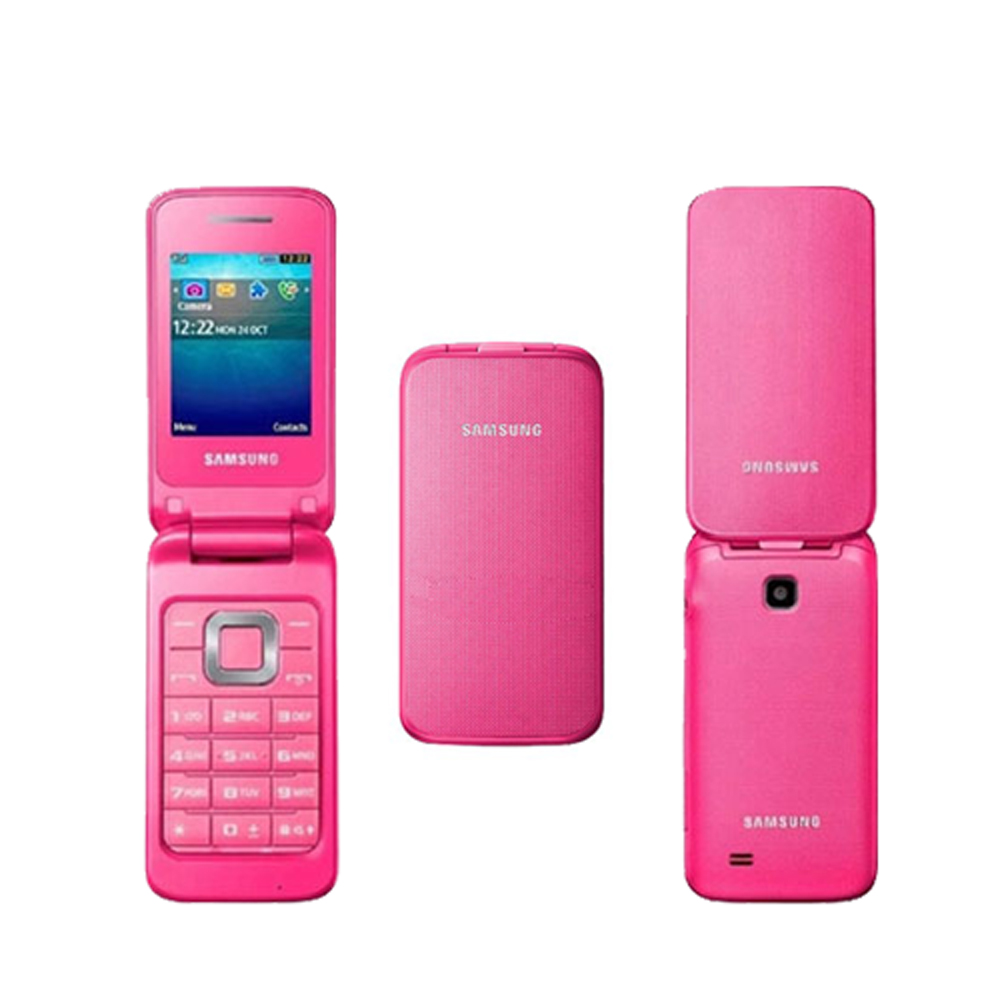 samsung gt c3520 mobile phone flip phone locked to tesco coral pink. Black Bedroom Furniture Sets. Home Design Ideas