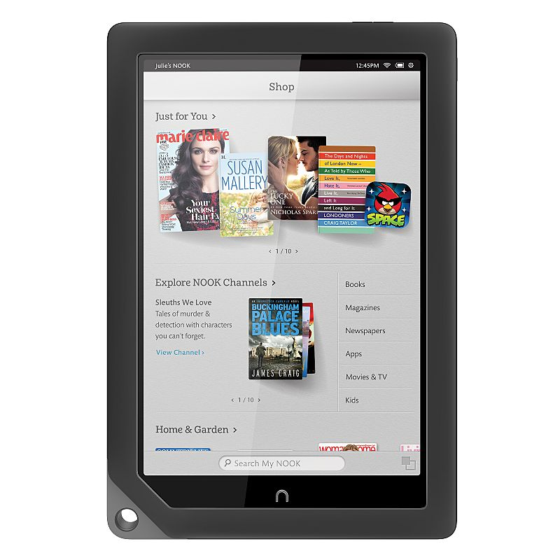 Barnes & Noble NOOK HD+ 16GB, Wi-Fi, 9