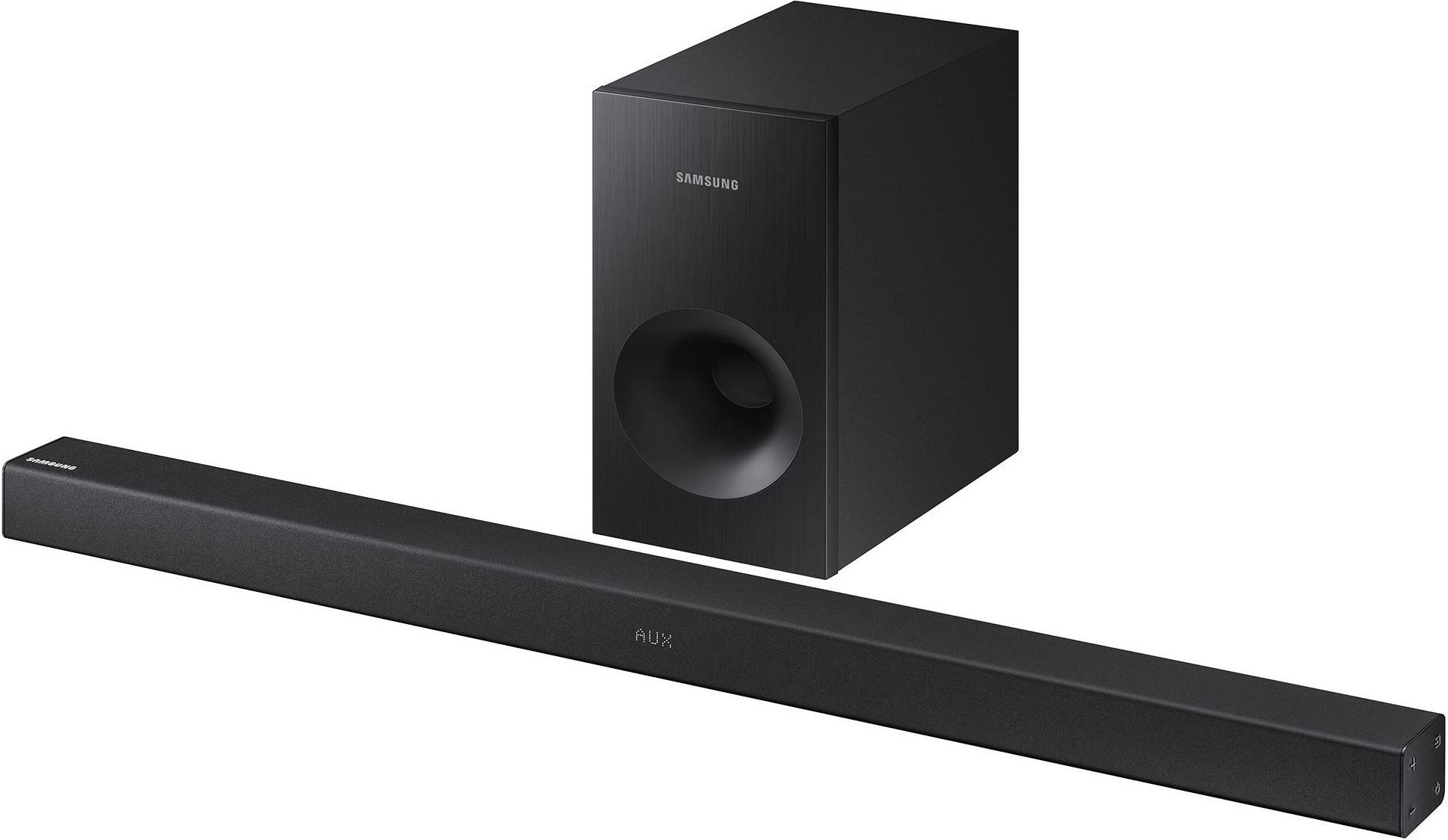 samsung 2 1 channel 130w soundbar samsung hw k360 2 1 channel wireless soundbar subwoofer 130w black b ebay
