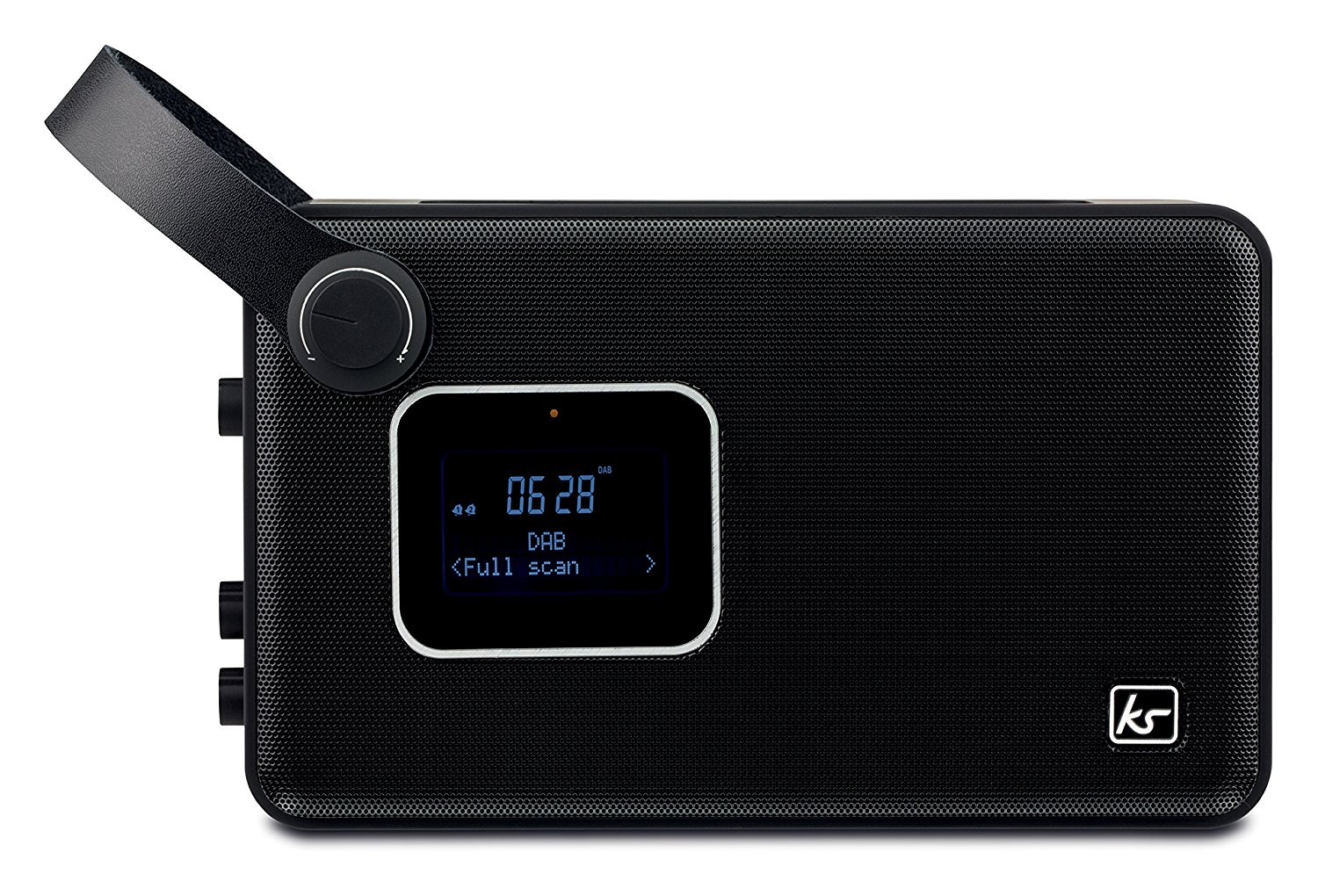kitsound air ksairbk portable bluetooth dab fm radio alarm clock black b ebay. Black Bedroom Furniture Sets. Home Design Ideas