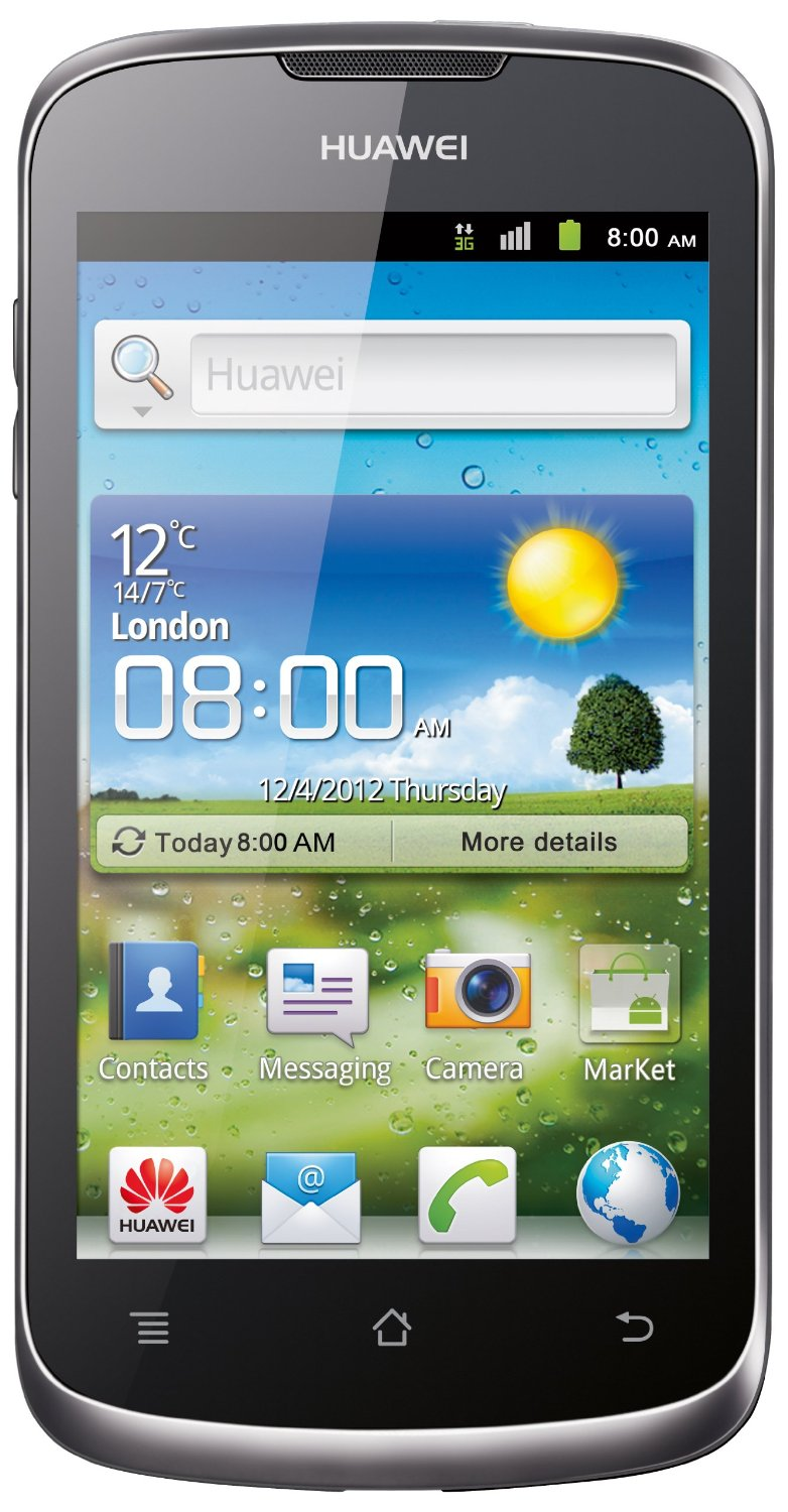 Huawei Ascend G300 Silver Touchscreen Smartphone Mobile Phone Unlocked