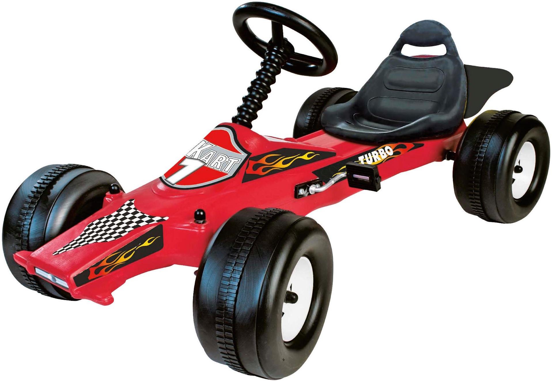 how to make a pedal powered go kart