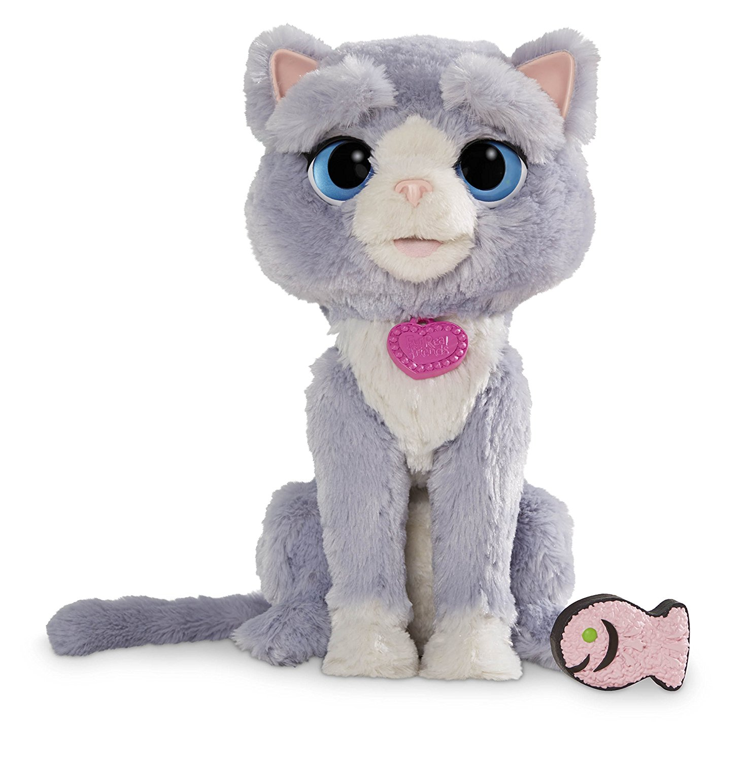 NEW FurReal Friends Bootsie Interactive Pet Cat Toy - Grey