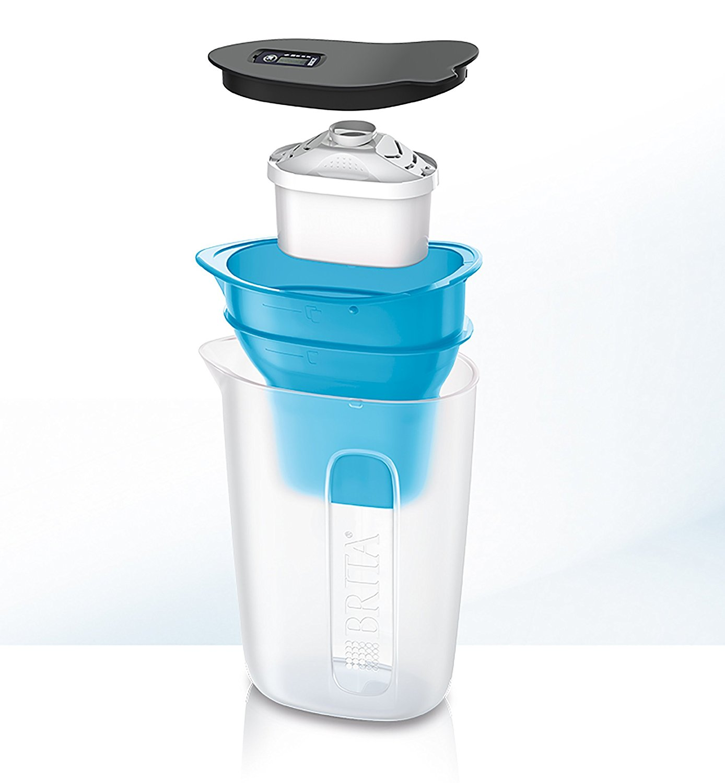 new brita marella water filter jug 2 4l white purifier kitchen ebay. Black Bedroom Furniture Sets. Home Design Ideas