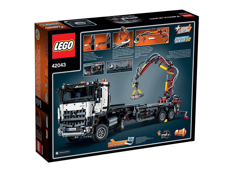 new lego technic mercedes benz arocs 3245 truck 42043. Black Bedroom Furniture Sets. Home Design Ideas