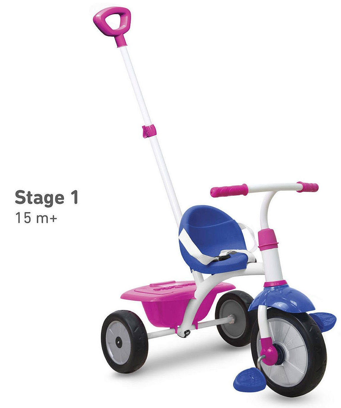 new smartrike 2 in 1 fun tricycle trike adult push along. Black Bedroom Furniture Sets. Home Design Ideas