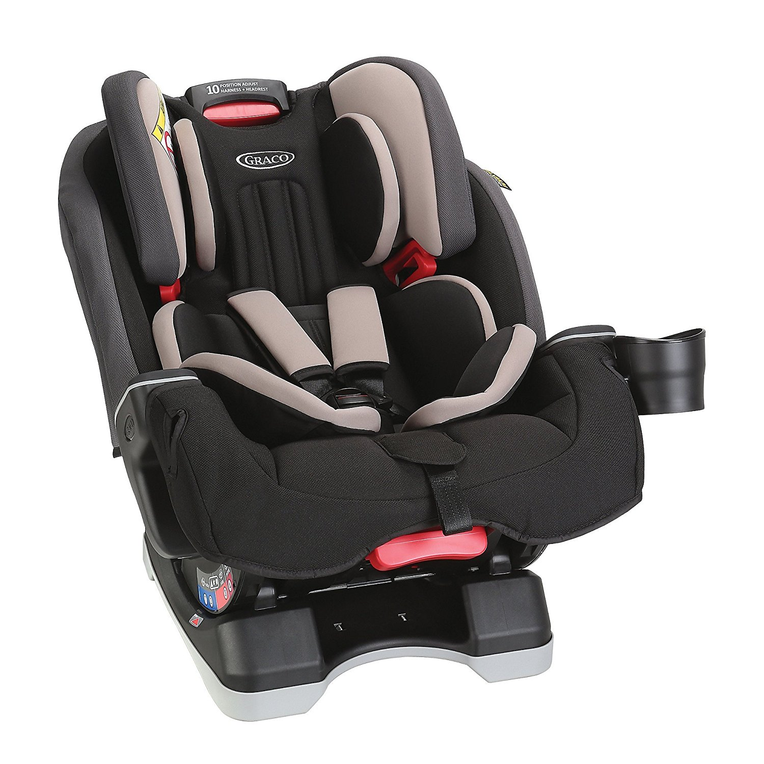 new graco milestone all in one high back booster car seat group 0 1 2 3 ebay. Black Bedroom Furniture Sets. Home Design Ideas